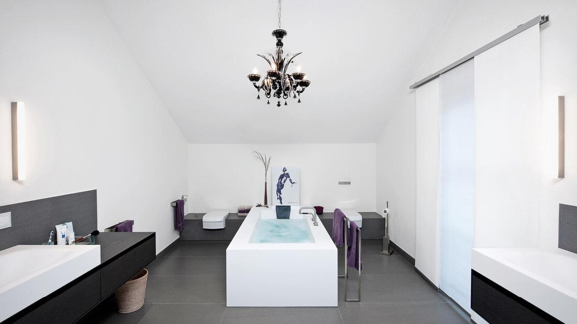 moderne badarchitektur f r grosse b der friedrich merzig die badgestalter. Black Bedroom Furniture Sets. Home Design Ideas